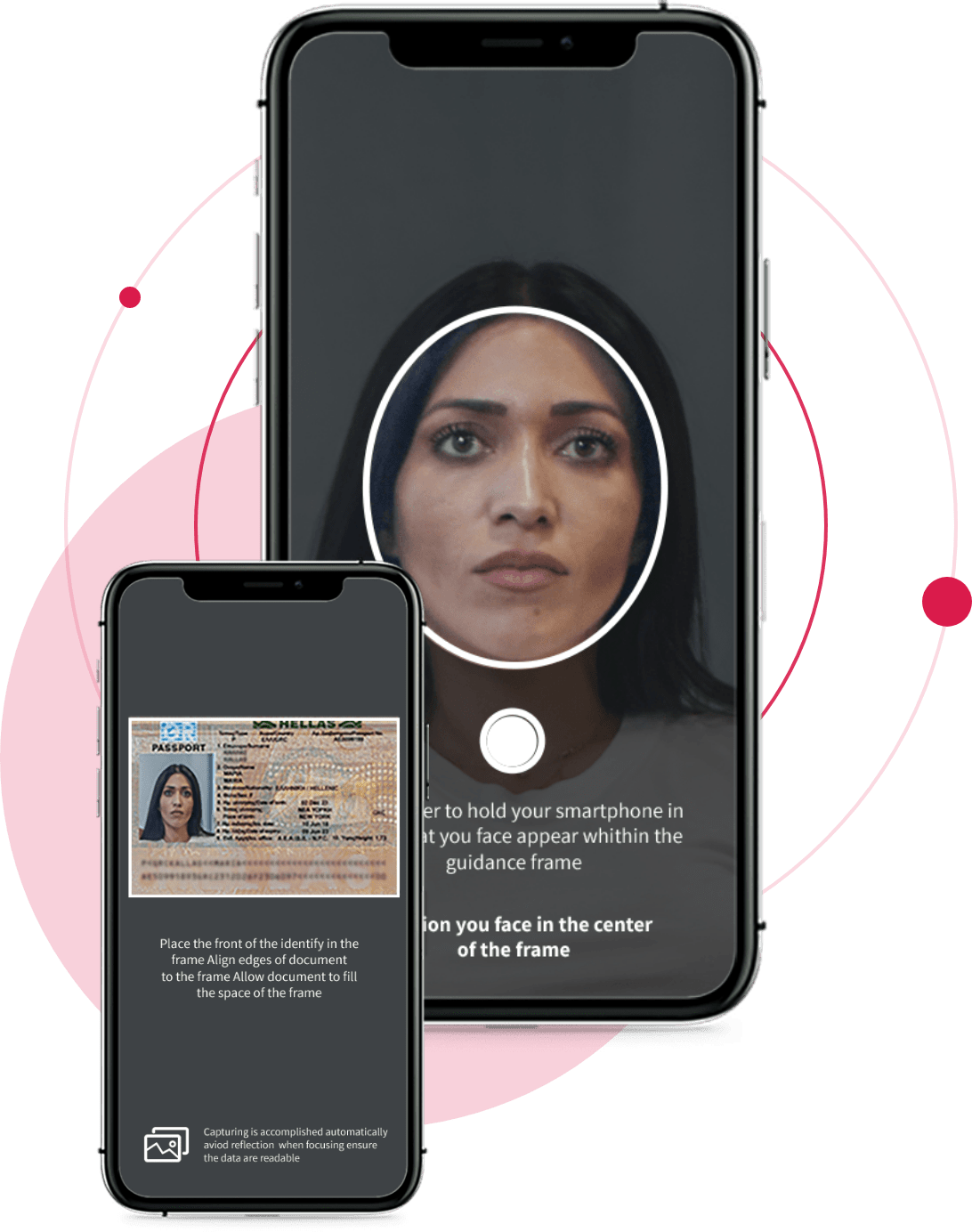 Face scan and id scan screenshot
